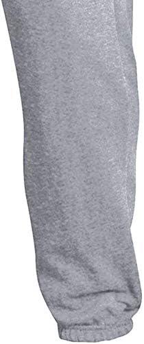 NCAA Mens Powerblend Oversized Closed Bottom Sweatpants