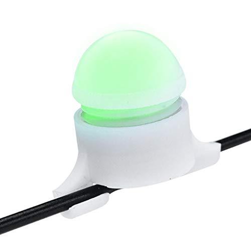 Morza Inteligente Pesca de la Noche de la mordedura de Rod luz de la extremidad LED de Alarma indicador de Alerta de Suministros de Pesca Accesorios