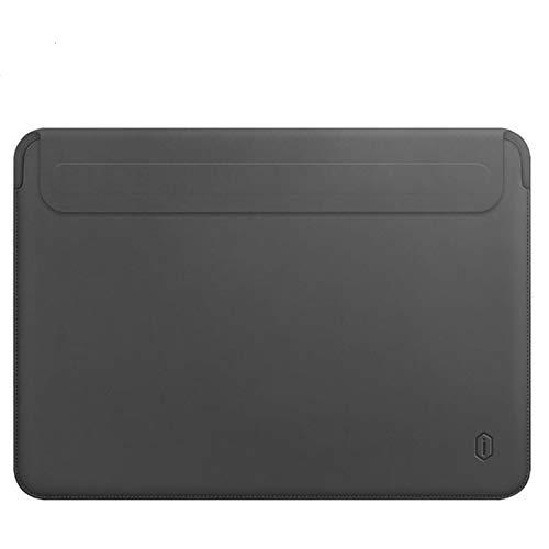 Laptop Sleeve for MacBook Pro Waterproof PU Leather Laptop Bag for MacBook Air