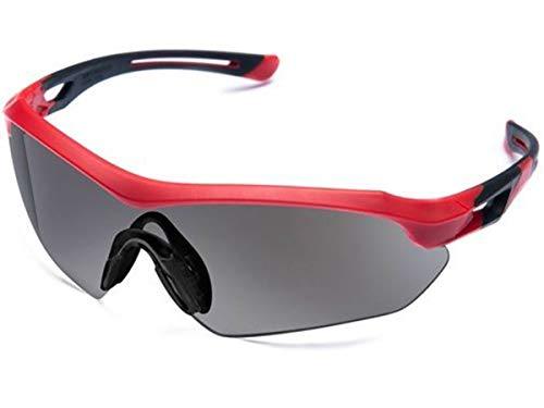 Óculos Proteção ESPORTIVO STEELFLEX FLORENCE VERMLEHO FUME Esportivo AIRSOFT Teste Balístico Paintball Resistente A Impacto Ciclismo VOLEY FUTVOLEY ESPORTES DE AVENTURA