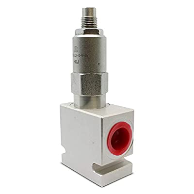 Adjustable Pressure Relief Valve; Direct-Acting; 20 GPM; 3000 PSI; #8 SAE (3/4-16 ORB) from Summit Hydraulics