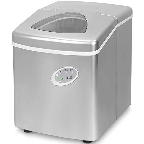 Think Gizmos Maquina de hielo casera - La mejor fabricadora de cubitos de hielo para casa - Maquina de hielo portátil - Produce 15kg de cubitos de hielo en 24 horas - ¡Disfrute bebidas on-the-rocks!