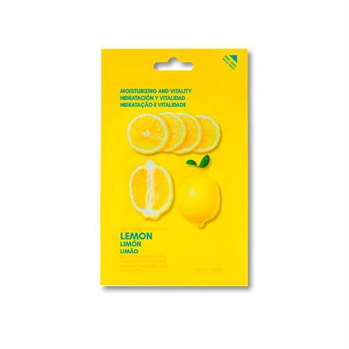 Holika Holika Pure Essence Facial Sheet Mask, Lemon, 23 ml