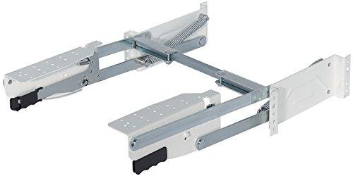 Gedotec Drehbeschlag Parallel-Schwenkbeschlag zum Schrauben an die Seitenwand | Parallel-Schwenkmechanik mit 8 kg Tragkraft | 1 Garnitur - Schwenkbeschläge für Küchen Kleingeräte & Allesschneider