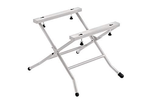 Metabo Untergestell TSU (für Tischkreissägen TS 254 M, klappbar, für optimale Arbeitshöhe + sicherer Stand, Max. Belastung mit Maschine 125 kg) 629003000