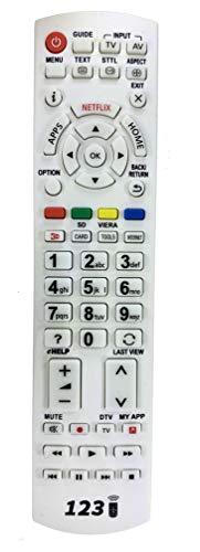 Ersatz Fernbedienung für Panasonic TX-50DXW734 | TX-50DXW784 | TX-50DXW804 | TX-50DXX789 | TX-50EXF787