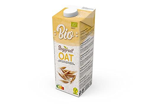 SOYFRUIT - Latte di avena biologico, 1000 ml, confezione da 6