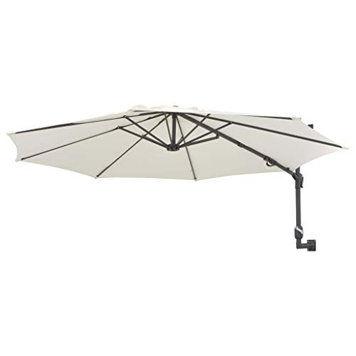 Festnight Wall-Mounted Parasol