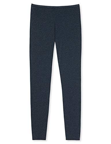 Schiesser Damen Personal Fit Leggings Panties, Blau (Nachtblau 804), 38 (Herstellergröße: M)