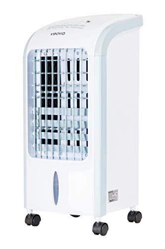 Veova Air Cooler ECO Mobiles Klimagerät mit Entfeuchtungs-Funktion | 3in1 – Luftkühler, Entfeuchter und Luftreiniger | mobile Klimaanlage mit Timer & Fernbedienung | optimal bis 50m² | Weiß