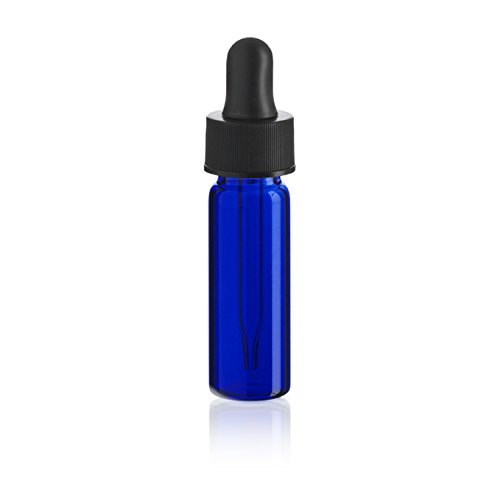 1 Dram Tampa Mall Al sold out. Blue Glass Vial Pack Dropper - 12 of