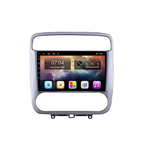 GOHHK 1280 * 720p para Honda Stream 2001 2002 2003 2004 Headrest Car Radio Player GPS Estéreo Auto Carpray DSP Android 10.0 OS 9'(Size:Cuatro nucleos,Color:WiFi:2GB+32GB)
