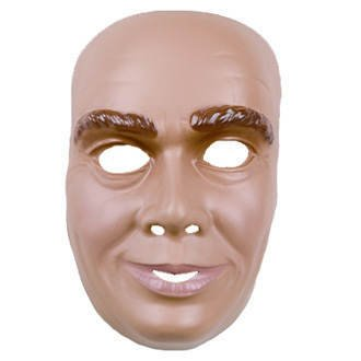 Erw.-Gesichtsmaske junger Mann