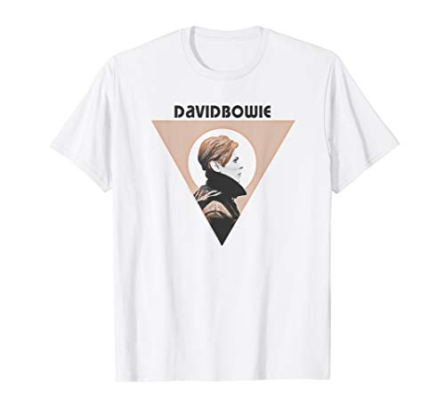 David Bowie Low Triangle Graphic T-shirt for Men or Women, S to 3XL