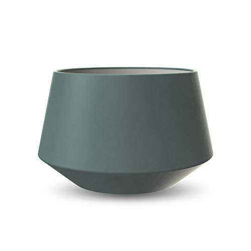Cooee Design bloempot, keramiek, donkergroen, 14 cm