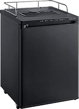 EdgeStar BR3002BL 24 Inch Wide Kegerator Conversion Refrigerator for Full Size Keg - Black