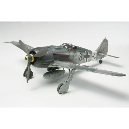 Tamiya 61095 1/48 Focke-Wulf FW190 A-8/A-8 R2 Plastic Model Airplane Kit
