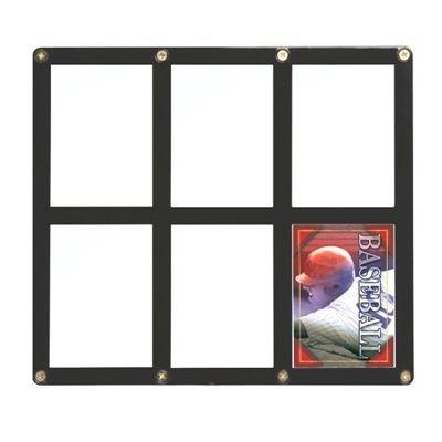 MLB 6-Card Black Screwdown