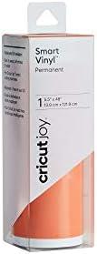 Cricut 2007109 Joy Smart Vinyl Permanent 5 5 x 48 Adhesive Decal Roll Orange product image