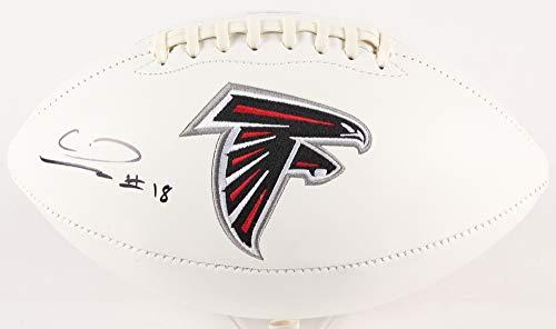 Autographed Calvin Ridley Falcons Football
