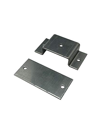 B/&T Metall Stahl Rechteckrohr 40 x 30 x 2,0 mm in L/ängen /à 1000 mm 0//-3 mm Flachkantrohr ST37 schwarz roh Hohlprofil Rohstahl