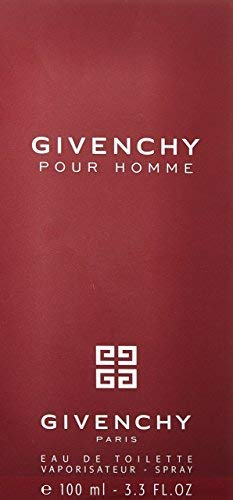 Givenchy Pour Homme by Givenchy For Men Eau De Toilette Spray, 3.3 Ounce
