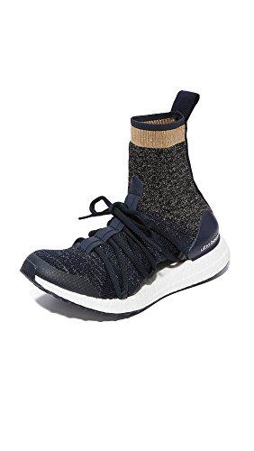 adidas by Stella McCartney Women's Ultraboost X Sneakers, Legend Blue/Black/White, 9.5 B(M) US
