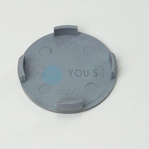 1 X Bouchon Moyeu D'Enjoliveur 55,5 - 55,0 mm - Argent