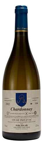 Chardonnay Pays d'Oc 2002 - Koscherer Weiss-wein aus Frankreich, Languedoc Roussilion, Trocken