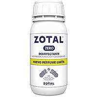 Zotal Zero Desinfectante Microbicida, Limón - 2 Recipientes de 250 ml - Total: 500 ml
