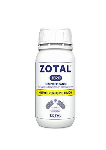 Zotal Zero Desinfectante Microbicida, Limón - 250 ml