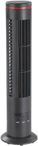 newgen medicals Tisch Säulenventilator: Mini-Tisch-Turmventilator VT-194.T mit Ionisator & Luftreiniger, USB (USB Tischventilator)