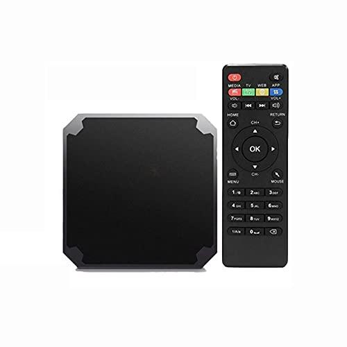 RONGXI Caja de Android TV de Las multimedias, Authentic IPTV TV Box 9.0 Media Player S905W Quad Core 2G 16G Mini TV IP Set Top Box Ship de Francia