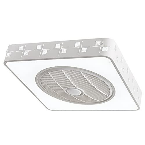 Ventilador de Techo con Luz Ventiladores De Techo con Iluminación, Lámparas De Techo con Velocidad De Viento Ajustable, Ventilador De Techo con Luz De Techo con Control Remoto