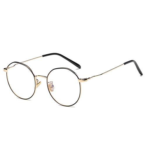 Blaulicht-Schutzbrille Gamer-Brille und Computerbrille Metallrahmen-Anti-Ermüdungs-Brille für Smartphone-Bildschirme oder Fernseher-4
