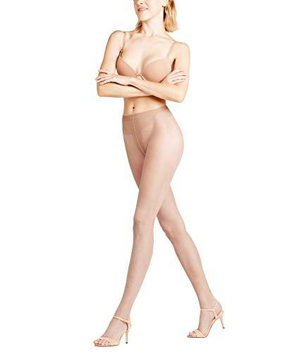 FALKE Damen Strumpfhosen Shelina 12 Denier Toeless - Ultra-Transparente, 1 Stück, Beige (Brasil 4679), Größe: L