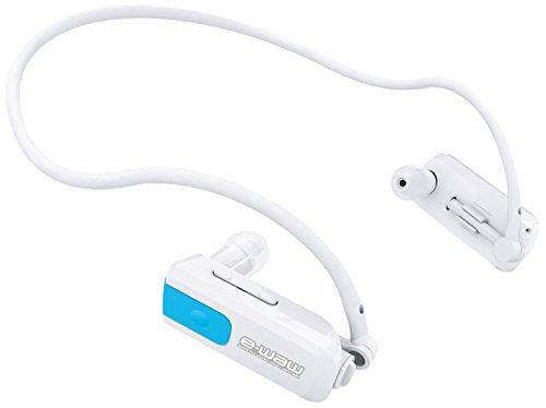 sportXtreme e-waw - Reproductor MP3 para natación (4 GB,) blanco