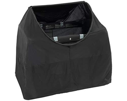 DERYAN Campingbed Protector pop-Up Night Cover – < 1 mm myggnät – Stimulerar ditt barns sömn – Mörkläggande av fältsängen – Lämplig för alla campingsängar