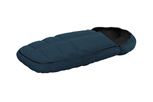 Thule Footmuff in navy blue, Isolierter Premium-Fußsack, verstellbare Kapuze