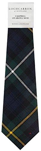 I Luv Ltd Gents Neck Tie Campbell of Argyll Modern Tartan Lightweight Scottish Clan Tie