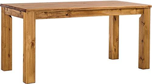 Brasilmöbel Esstisch Rio Classico 160x90 cm Brasil Massivholz Pinie Holz Esszimmertisch Echtholz Größe und Farbe...