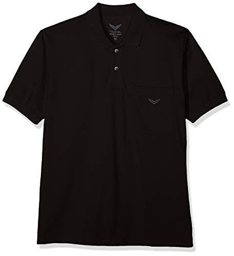 Trigema Herren Poloshirt , Schwarz (Schwarz 008) , X-Large