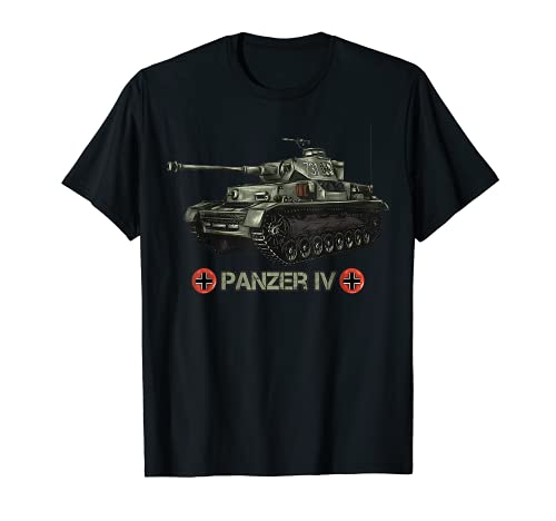 Carro armato tedesco della seconda guerra mondiale Panzer IV Maglietta