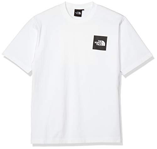 [ザノースフェイス] Tシャツ ショートスリーブピクチャードスクエアロゴティー メンズ ホワイト 日本 L (日...