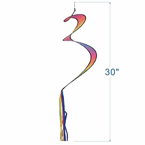 Produtos Profissionais de Elite Tie Dye Spinning Tail: Amazon.es ...