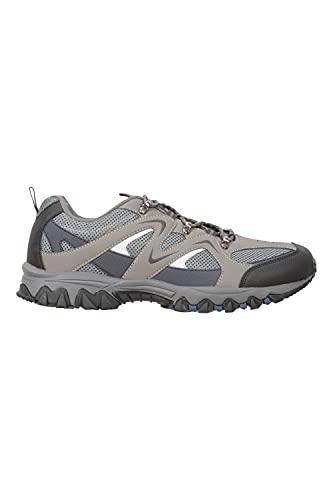 Mountain Warehouse Zapatillas Jungle para Hombre - Zapatillas de Correr Ligeras, Transpirables, Suaves, cómodas, Zapatillas Flexibles para el Gimnasio Azul Oscuro 40
