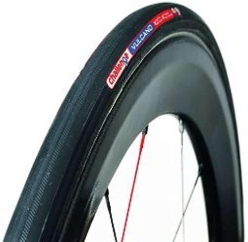 Challenge Vulcano Road Tubular Tire (noir blanc, 22-mm) by Challenge