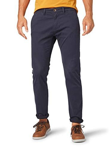 TOM TAILOR Herren Travis Regular Straight Jeans, Blau (Knitted Navy 10690), W31/L32 (Herstellergröße: 31/32)
