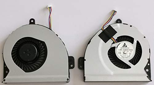 Gobuy New Laptop CPU Cooling Fan for ASUS A43S A53S K53S X54H A83S X43S X53S X84L X84H