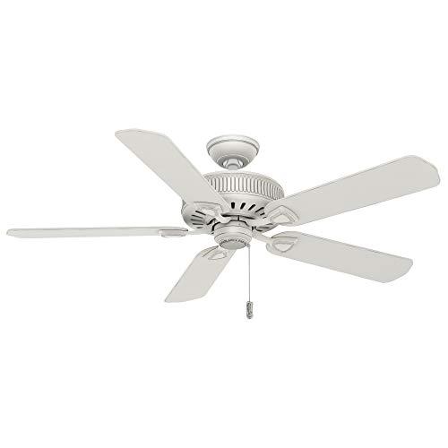 Hunter Fan Company 54000 Ainsworth Ceiling Fan, 54-inch, White